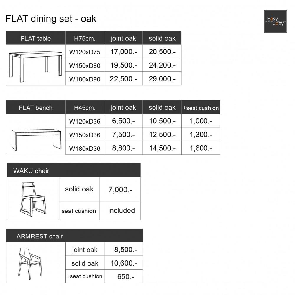Web Price - Flat Dining